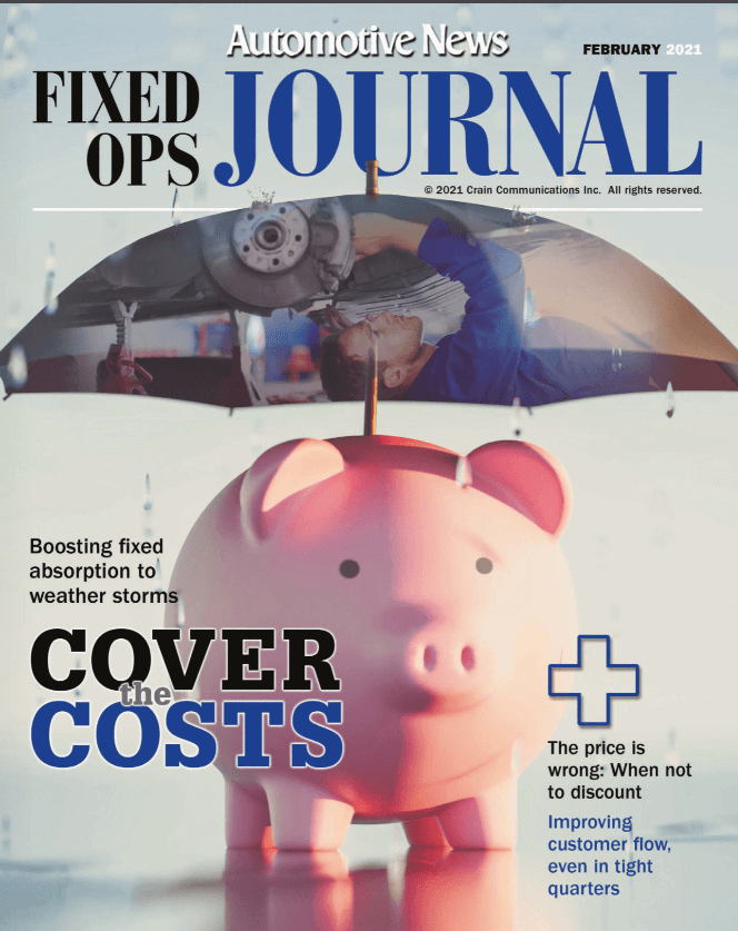 Fixed Ops Journal – Service Pick-Me-Up